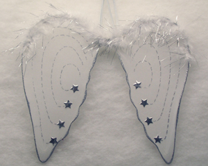 Dress Up Angel Wings