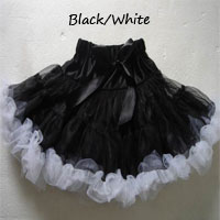 Black & White Pettiskirt