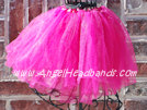 Dress Up Dance Tutu Hot Pink