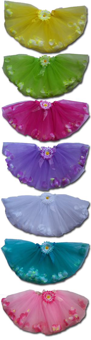 Flower Princess Dance Skirt