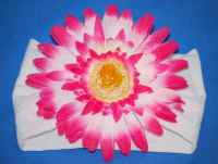 Gerbera Daisy on Nylon Headband