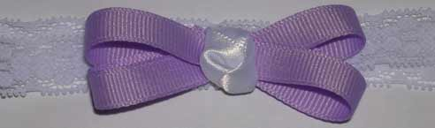 Grosgrain and Satin Baby Headband