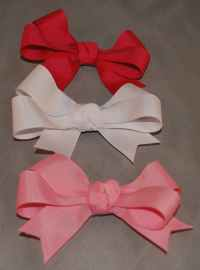Cutie Pie Grosgrain Bow