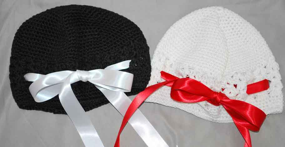 Kufi Hat with Ribbon