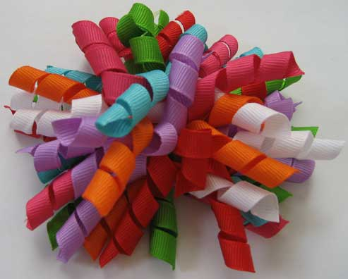 Multi Color Korker Bows