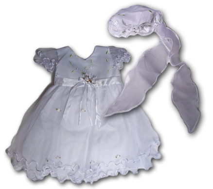 Baby and Little Girl Party Dress