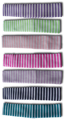 Striped Baby Headband 1 1/4 in.