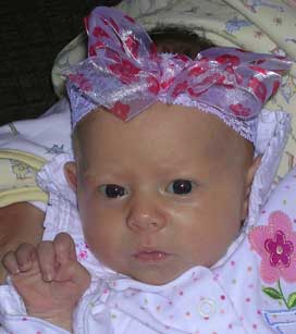 Sweet Flower Baby Bow Headband